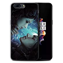 Official Elena Dudina Gel TPU Phone Case / Cover for OnePlus 5 / Broken Glass Design / Love Art Collection