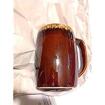 Vintage Hull Brown Drip Tall Mug