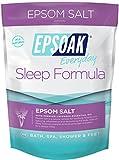 Epsoak Epsom Salt Sleep Formula 2lbs – Sleep Well & Relax with Epsom Salt & 100% natural Lavender Essential Oil
