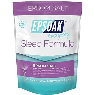 Epsoak Epsom Salt Sleep Formula 2 lbs. - Lavender Bath Salts, Sleep Well & Relax with Epsom Salt & 100% Natural Lavender Essential Oil - 4047426 , B017E3NE9O , 454_B017E3NE9O , 11.39 , Epsoak-Epsom-Salt-Sleep-Formula-2-lbs.-Lavender-Bath-Salts-Sleep-Well-Relax-with-Epsom-Salt-100Phan-Tram-Natural-Lavender-Essential-Oil-454_B017E3NE9O , usexpress.vn , Epsoak Epsom Salt Sleep Formula 2