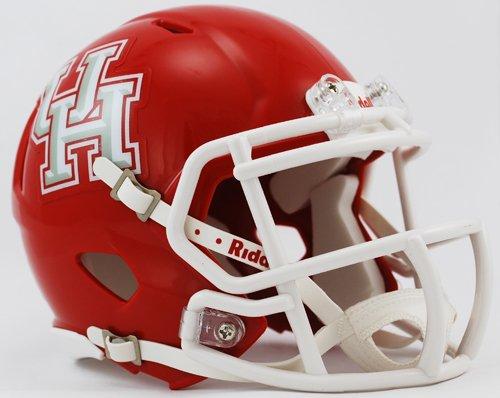 Houston Cougars Helmet Riddell Replica Mini Speed Style Red Cougars Helmet