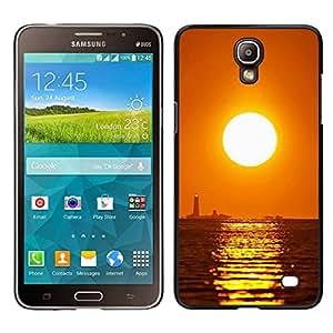 EJOY---Cubierta de la caja de protección para la piel dura ** Samsung Galaxy Mega 2 ** --Puesta de sol Mar Beautiful Nature 16