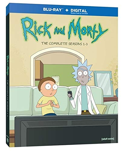 Rick and Morty: Seasons 1-3 (BD) [Blu-ray]
