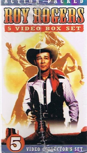 Roy Rogers 5 Video Box Set: Video Collector's Set of 5 VHS Tapes: Bells of San Angelo / Days of Jesse James / Jesse James at Bay / Apache Rock - James Boxed Set Jesse