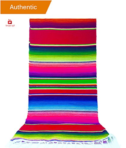 NEW Alondra's Imports   Elegantly Woven, Genuine Serape Tabl