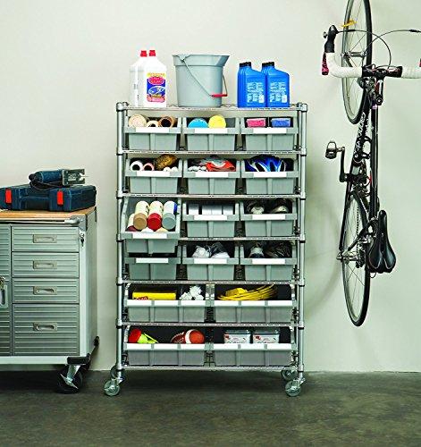 Buy warehouse shelving plastic