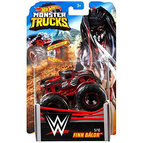 Finn Balor Wrestling Monster Jam Truck con ruedas gigantes 1:64 Escala