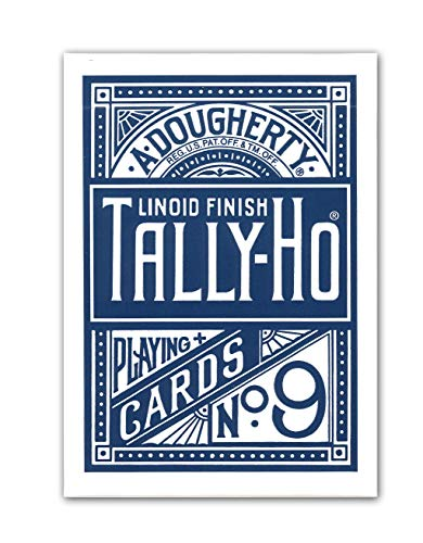 Tally Ho Circle Back Playing Cards- (Color May Vary)