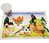 Extra Sticky Disposable Plastic Placemat for Baby