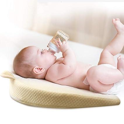 Homvik Cojín Cuña Inclinada Antireflujo para Bebé Desenfundable