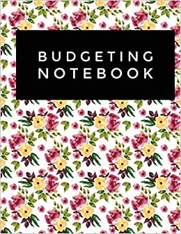 794c74e7c246 Budgeting Notebook: Floral Pattern Design Personal Money Management ...