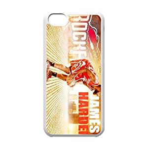 Generic Cell Phone Cases For Iphone 5c Cell Phone Design With 2015 NBA #13 James Harden Houston Rocket niy-hc829002