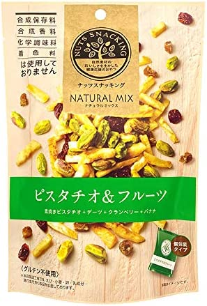 MD ナッツスナッキングNMピスタチオ&フルーツ 62g ×3袋