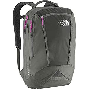 The North Face Women's Women's Microbyte Asphalt Grey/Luminous Pink Backpack