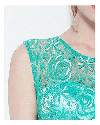 Grün Spitze Ausgehöhlt Beauty Arm Emily Ohne Ansatz Abendkleider O Linie A 77vZwFqA