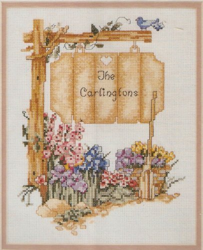 Elsa Williams THE SIGN POST Counted Cross Stitch Kit 02053 (Elsa Williams Cross Stitch)