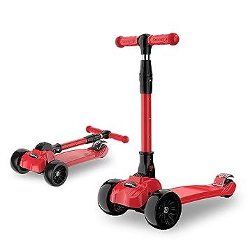 Scooter Plegable NiñO,Patinetes Kidscooter para Niños con ...