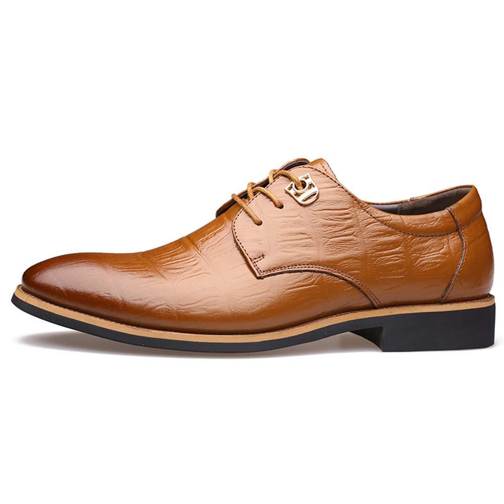 Qimaoo Mocasines de Cuero para Hombre Elegante Oxfords Zapatos para Vestido Formal Negocio Fiesta Boda Zapatos de Cuero para Negocios y Trajes: Amazon.es: ...