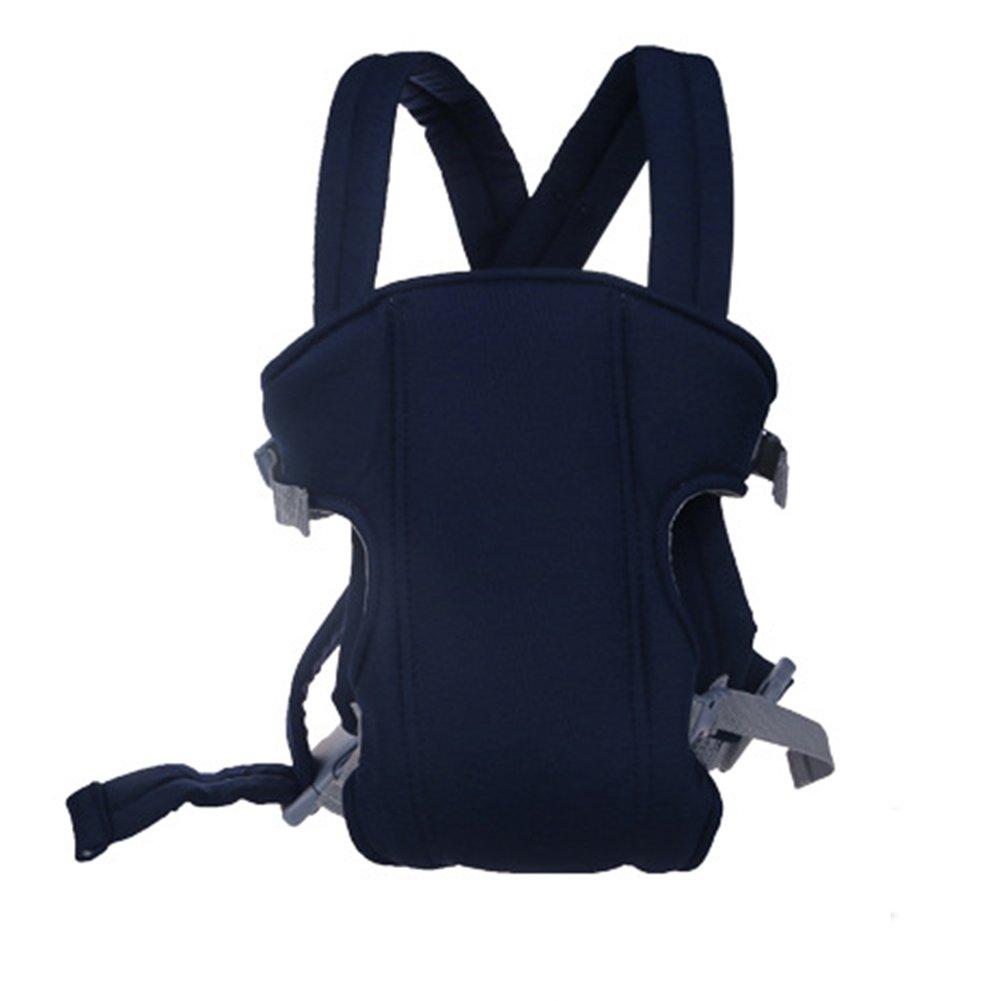 Azul oscuro NUEVO ergon/ómico respirable ajustable reci/én nacido beb/é portador mochila regalo