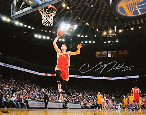 Chandler Parsons Autographed Photograph - 16x20 Front View Dunk - Tristar Productions Certified - Autographed NBA Photos