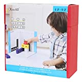 Building block series STEP3 3D silhouette puzzle set of Columbus