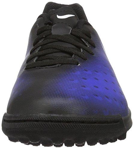 Nike 844416-016, Botas de Fútbol para Niños Negro (Black / White / Paramount Blue / Hyper Orange)