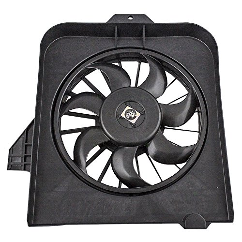 Fan Voyager Chrysler Assembly - AC A/C Condenser Cooling Fan Assembly Passenger Replacement for 01-05 Dodge Caravan Grand Caravan Chrysler Town & Country Voyager 4809170AE