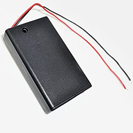 10pcs 4.5V Bateria De Soporte Para Caja Snap En Conector Interruptor de caja cerrada Dual 3 AAA 3A Case Vendible: Amazon.es: Electrónica