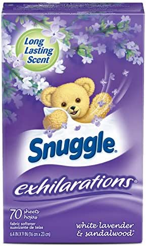 Dryer Sheets: Snuggle Exhilarations