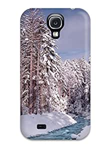 Slim New Design Hard Case For Galaxy S4 Case Cover Earth Winter