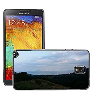 Hot Style Cell Phone PC Hard Case Cover // M00310657 Landscape Coast Shore Outdoor // Samsung Galaxy Note 3 III N9000 N9002 N9005