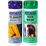 Nikwax Tech Wash and TX Direct Twin Pack