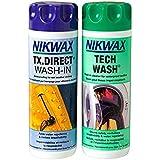 Nikwax Tech Wash/TX.Direct Wash in Twin Pack