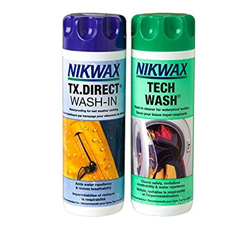 Nikwax Tech Wash et TX.Direct Wash en Lot de 2