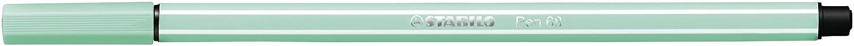 STABILO 68 Premium Felt Tip Pen Pack of 8 Pastel Assorted Colours