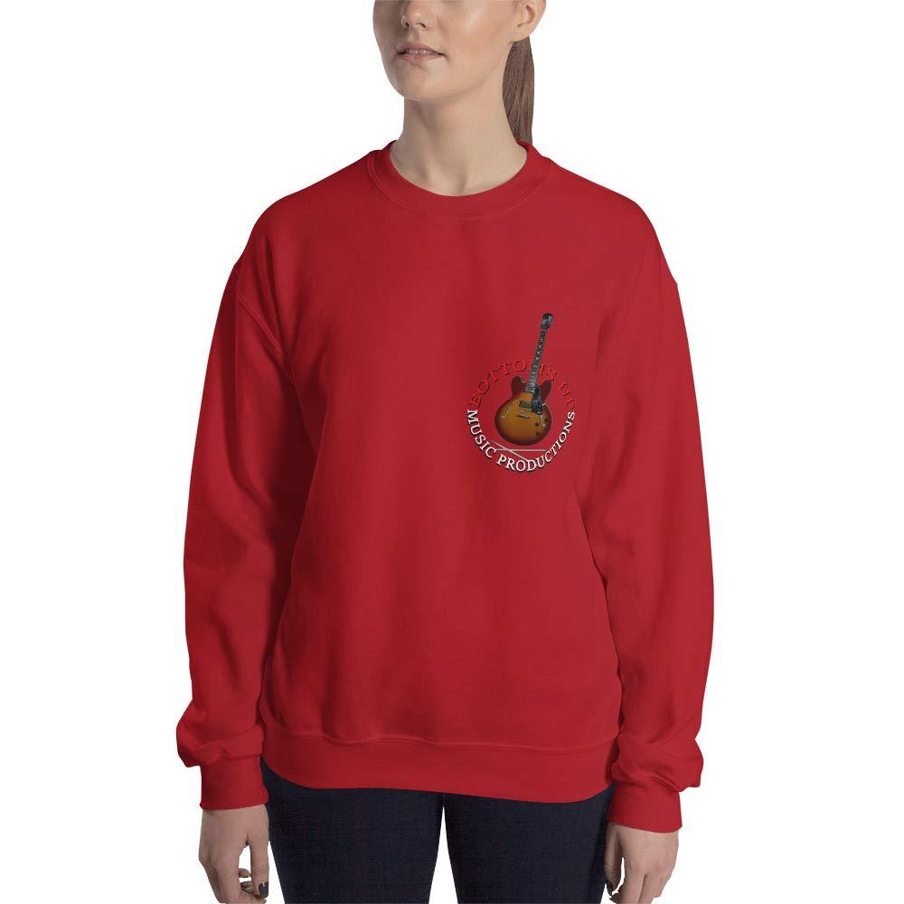 Offbeat Mixed Media Bottoms Up Music Productions Sweatshirt
