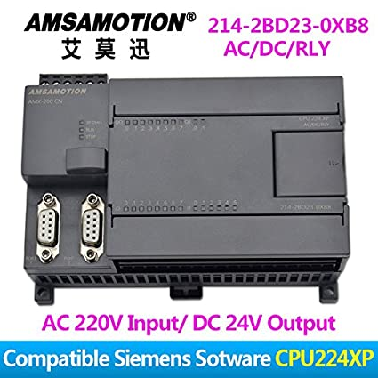 Amazon com: Amsamotion S7-200 PLC CPU224XP Compatible
