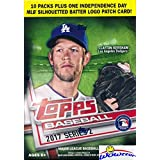 2017 Topps Series 2 Baseball EXCLUSIVE Factory Sealed Retail Box with 100 Cards & Special MLB SILHOUETTED BATTER LOGO PATCH Card! Loaded with Rookies & Inserts! Look for Autographs & Relics!WOWZZER!