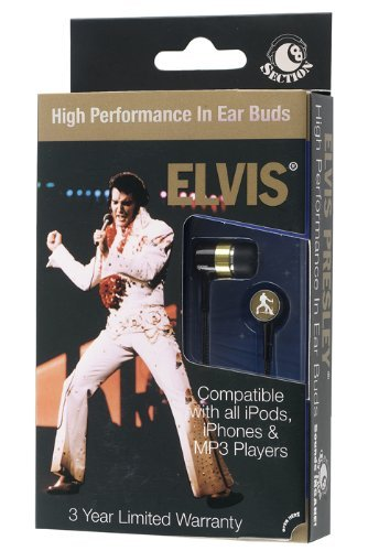 Section8 RBW5703 Elvis (Vegas) Ear Buds - Window Box - - Dr Vegas Mall Las