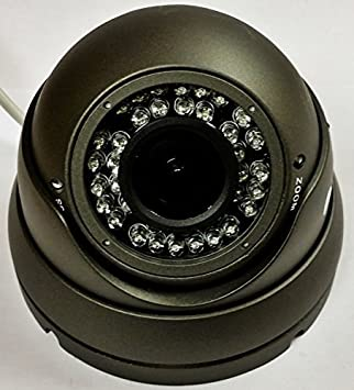 HD-TVI SONY CMOS 1080P Dome Camera 2.4MP  Varifocal 2.8-12mm 36 IR-WHITE