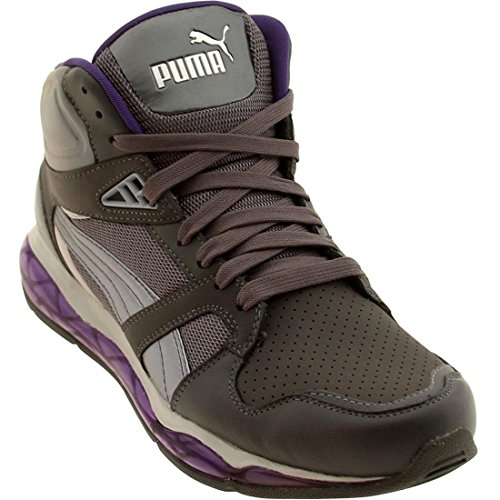Puma Men's PUMA XS 850 TECH NL HI TRAINING SHOES 12 (DARK SHADOW-PRISM VIOLET)