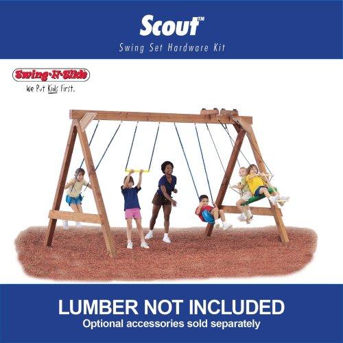 Swing N Slide Scout Custom Ready To Build Swing Set Kit Cep