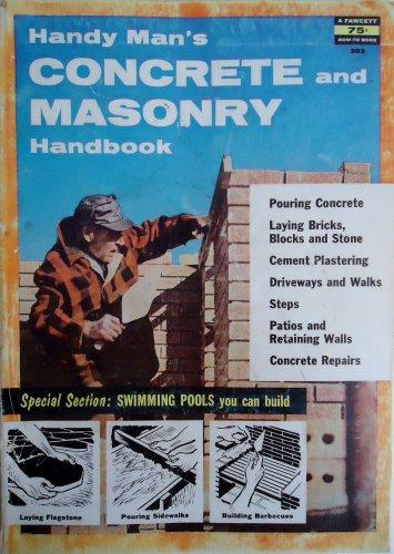 (Handy man's concrete and masonry handbook (Fawcett books,;no.303))