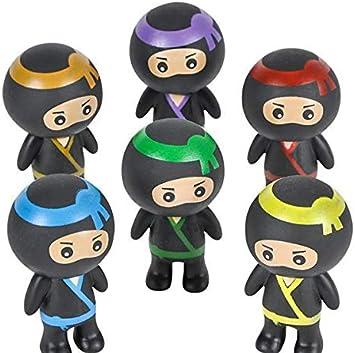 Amazon.com: DollarItemDirect 2 inches Mini Ninja Buddies (24 ...