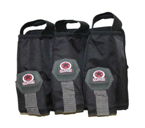 G.I. Sportz Paintball Basic 3 Pod Pack w/ belt Harness - Black