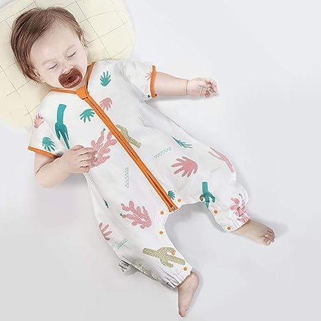 Saco de dormir para bebés, saco de dormir de gasa para niños con ...