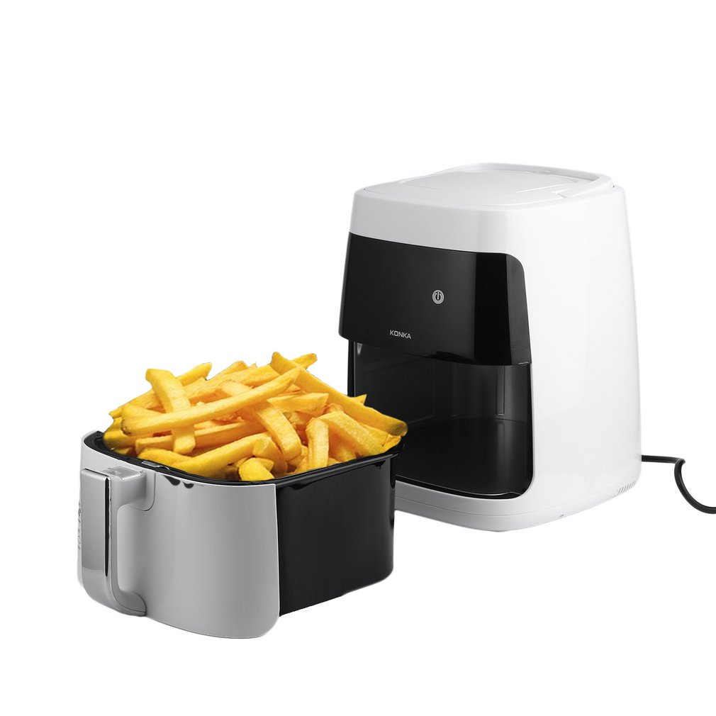 Homgrace Air Fryer, 2.5L Smokeless Electric Air Fryer Non-stick Fryer French Fries Machine 220V