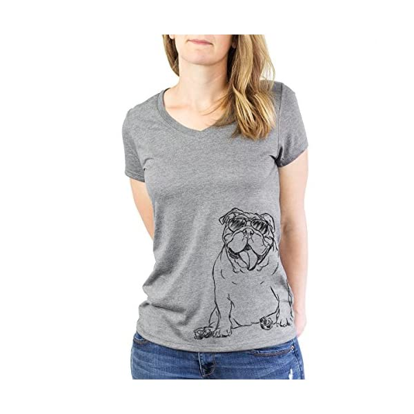 Inkopious Tank The English Bulldog Women's Triblend T-Shirt 4