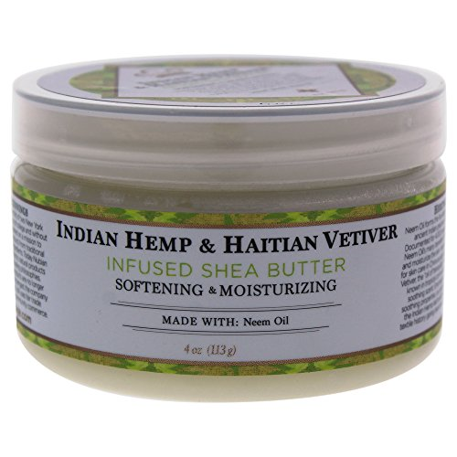 Nubian Heritage Shea Butter Lotion, Indian Hemp, 4 Ounce