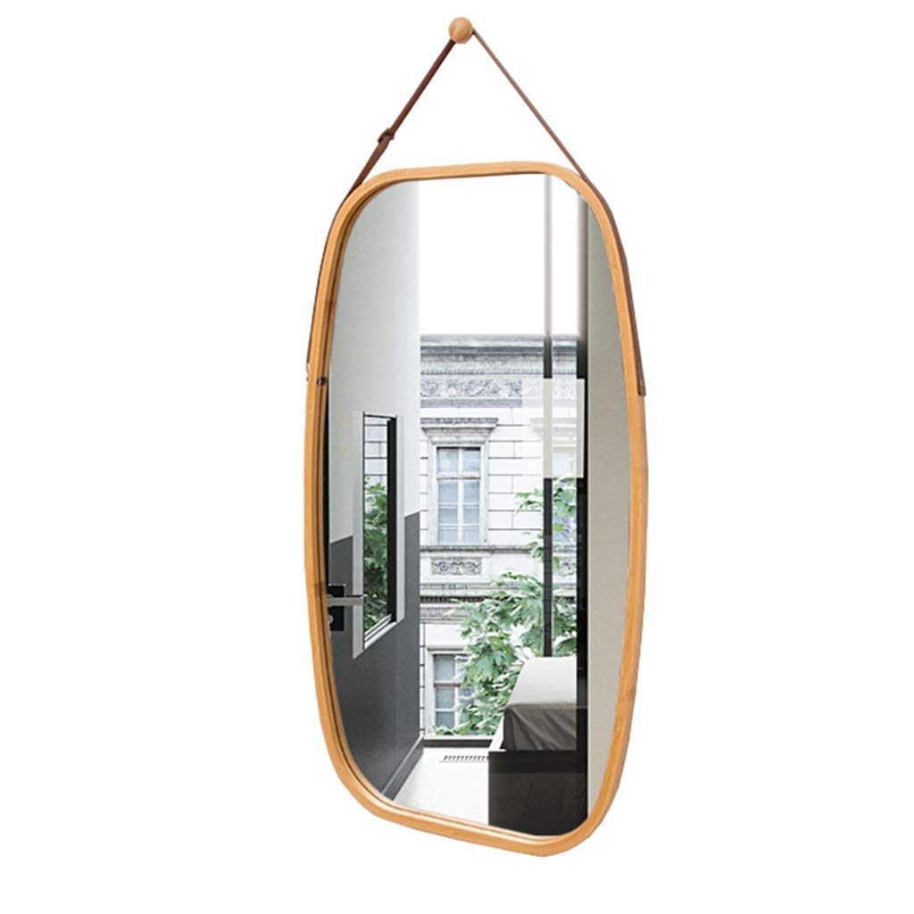Wall Mounted Full Length Mirror, Vanity Make Up Mirror Tiles for Wall Décor Bedroom